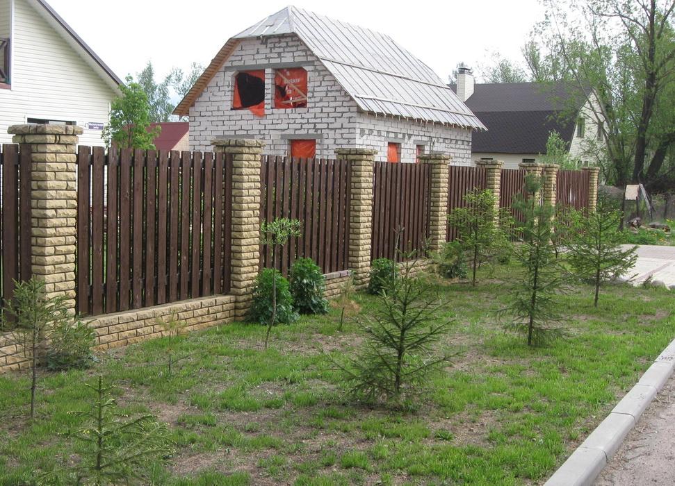Поставить забор на даче воронеж цена за м кв ворот распашные